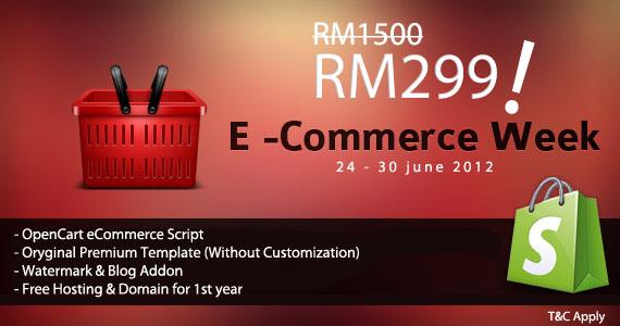 promosi rm299 laman web ecommerce